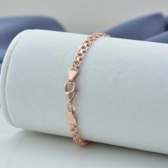 Позолоченные серебряные браслеты