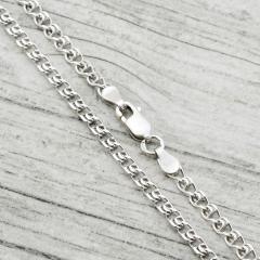 Серебряные цепочки с родированием