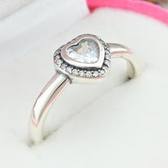 Родированные серебряные кольца