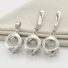 Серебряные наборы и комплекты украшений