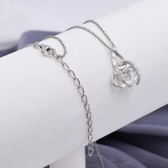 Серебряные наборы цепочка с кулоном