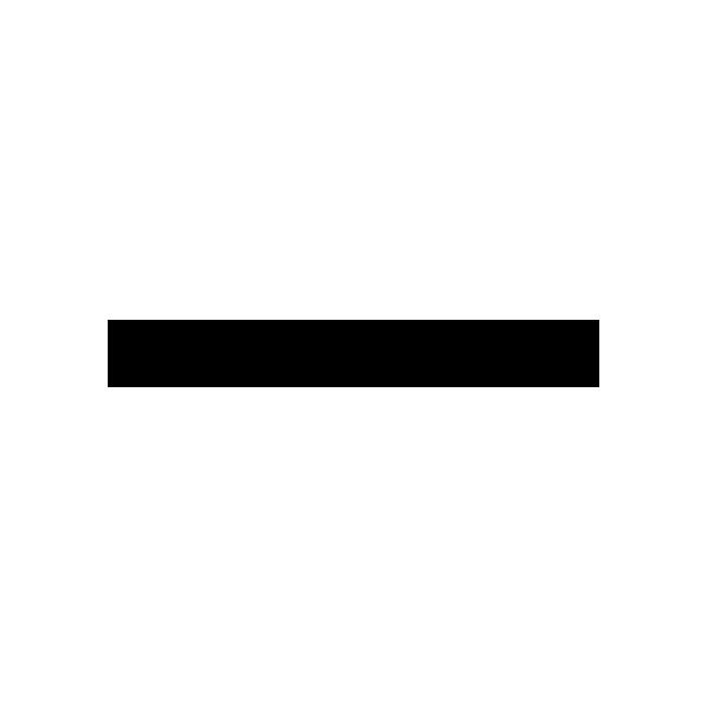 Силиконовый шнурок Xuping 52122 длина 40+6 см + кулон 9х9 мм белый фианит позолота 18К