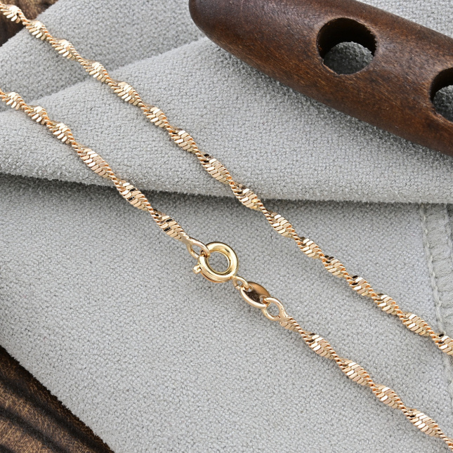 Ланцюжок Xuping 51898 ширина 2 мм позолота 18К