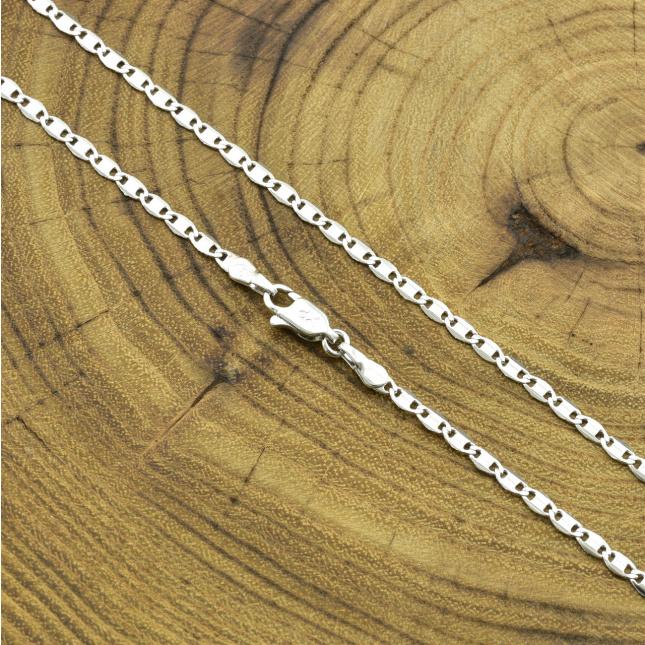 Ланцюжок Xuping 51745 ширина 3 мм позолота Біле Золото