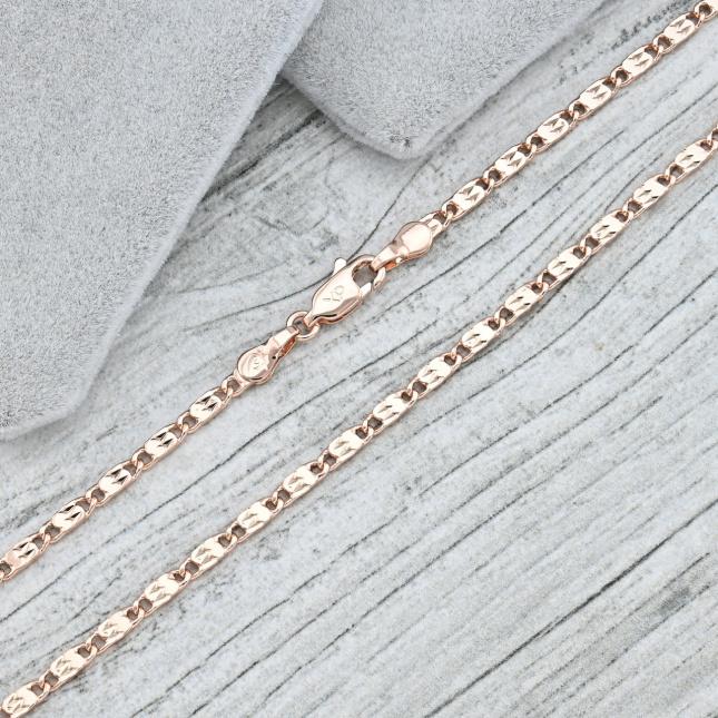 Ланцюжок Xuping плоский 35528 ширина 2 мм позолота РО