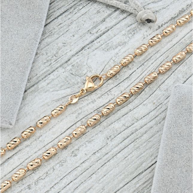Ланцюжок Xuping 35606 ширина 3 мм позолота 18К